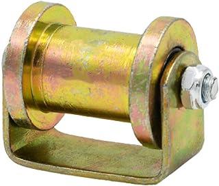 FWZJ Groove wiel Heavy Duty 45 # stijve Caster H Type katrol Sheave Directional Track Roller, voor draadkabel Rail, schuif...