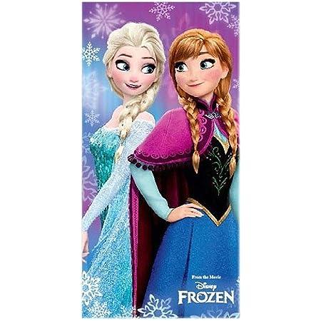 PLAGE serviette Elsa Frozen Reine II 75511 bleu Elsa Disney