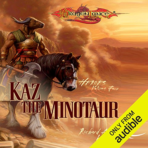 Kaz the Minotaur audiobook cover art