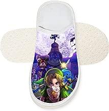 BEKAI Zel-Da Legend Night Cotton Slippers,Indoor/Room/Bathroom/Kitchen/Outdoor No-Slip Sandal Shoses