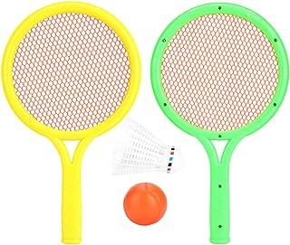 RBSD Intressant bärbar storlek miljövänlig baby tennisracket set, slitstarkt badmintonrackset, för barn föräldrar dagis barn