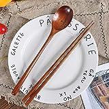 Cuchara de madera, tenedor de bambú, utensilios de cocina, utensilios, cuchara, cuchara, vajilla