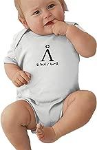 YISHOW Stargate Earth Address Bodysuits Infant Romper Jumpsuit Short-Sleeve Toddler Onesie