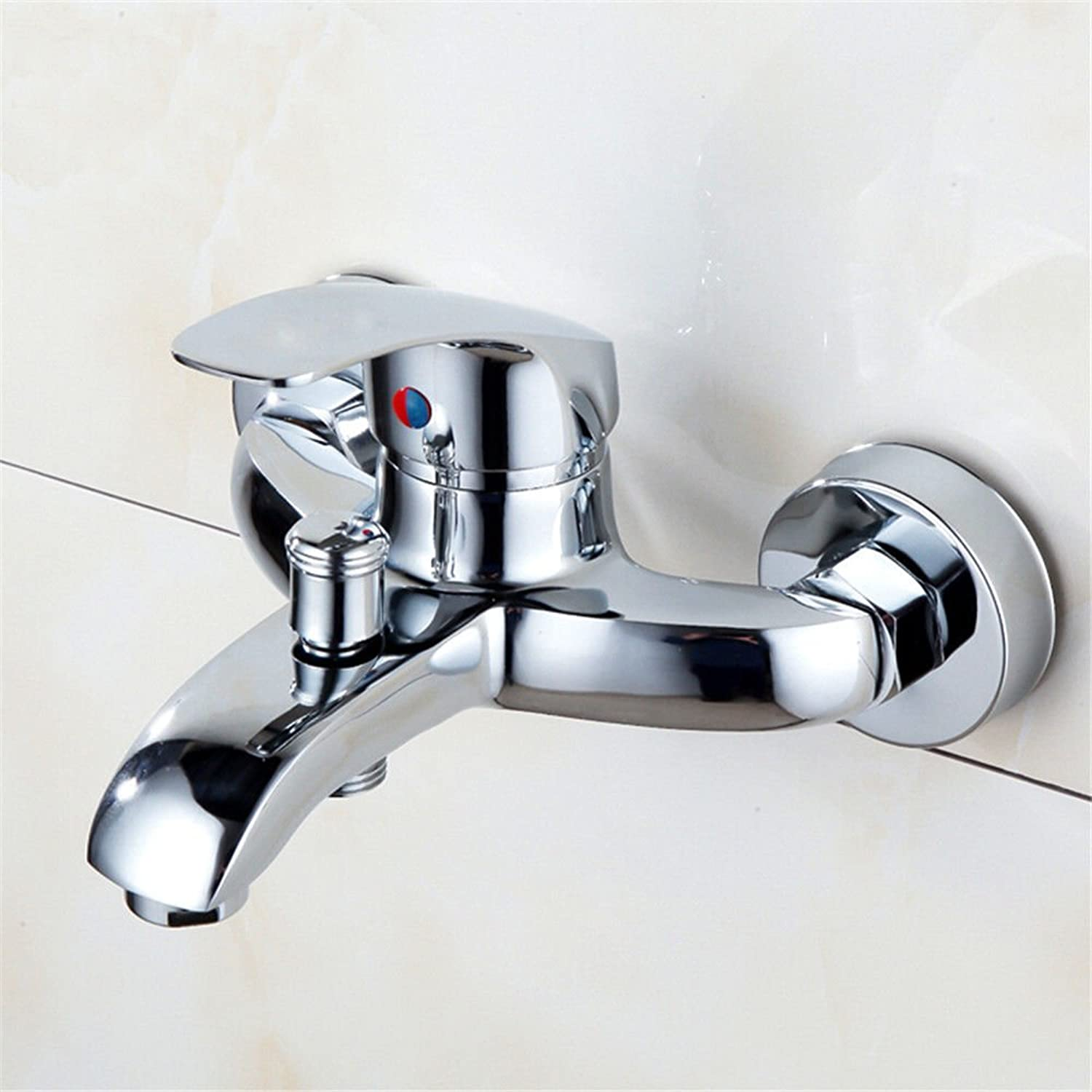 Lalaky Taps Faucet Kitchen Mixer Sink Waterfall Bathroom Mixer Basin Mixer Tap for Kitchen Bathroom and Washroom Copper Mixing Valve