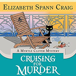 Cruising for Murder audiobook cover art