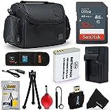 Accessory Bundle Kit for Canon Powershot SX540 HS, SX530, SX520, SX710, SX610, SX600, SX170 Digital Cameras Includes 32GB SDMemory Card, NB-6L Battery/Charger, Camera Case + More