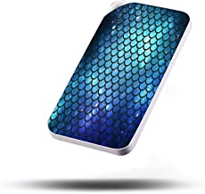 Portable Charger Cell Phone Power Banks 2.1A Output Dual USB Port External Battery Pack for Smartphone Fast Safe Charge 10000mAh Mermaid Tail