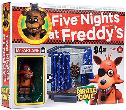 Five Nights at Freddys Pirate Cove McFarlane Construction Set