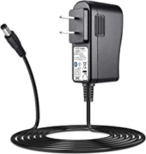 SoulBay AC Adapter DC 9V 1A 1000mA Regulated Power Supply Charger US Plug 5.5 x 2.1mm Transformer for Pedal Guitar Keyboard Tuner Effects Controller - Center Negative Power Cord