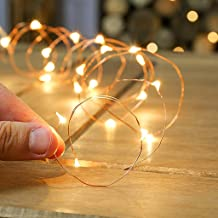 HASTHIP® 30 LED String Lights | with 3m Silver-Coated| Copper Wire USB Operated, Fairy String Lights for Bedroom, Patio, Indoor/Outdoor Waterproof Copper Lights for Birthday, (Warm White)
