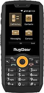 RugGear RG150 utomhus mobiltelefon utan kontrakt – vattentät, stötsäker, robust, dubbel SIM, 3G, Bluetooth, mikro-USB