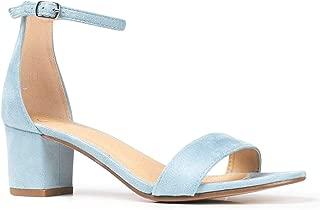 Ankle Strap Kitten Heel - Adorable Low Block Heel - Daisy