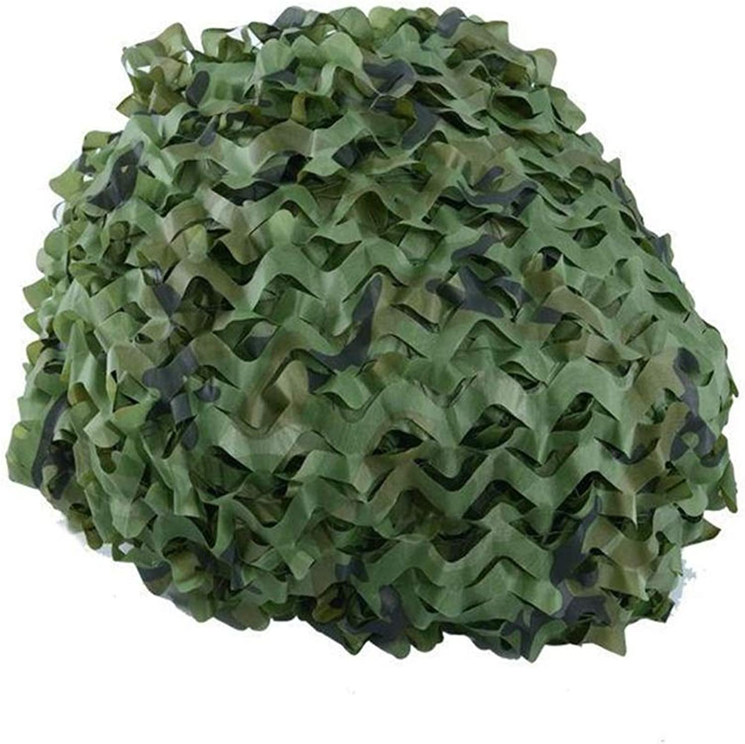 Camouflage Net Shading Net Outdoor Jungle Green Roof Cover Building Sunscreen Net AntiAircraft Camping
