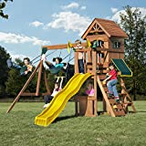Swing-N-Slide WS 8328 Jamboree Fort Play Set with Two Swings, Slide,...