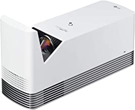 LG HF85LA Ultra Short Throw Laser Smart TV Home Theater CineBeam Projector Class 1 Laser Product White (Renewed)