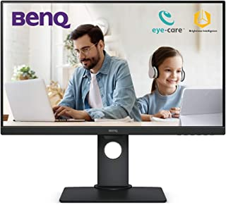 BenQ GW2780T 27 inch IPS Eye-Care Monitor with Height Adjustable Stand, Brightness Intelligence and Colour Weakness Techno...