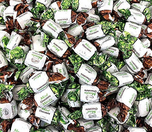Sunny Island Arcor Chocolate Filled Mints Premium Hard Candy, 2 Pounds Bag