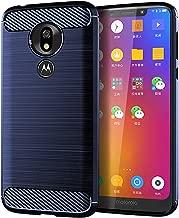 T-Mobile Revvlry Case,Moto G7 Play Case,Asmart Shock Absorption Tmobile Revvlry Case Slim TPU Bumper Cover Soft Flexible Skin Lightweight Protective Phone Case for T-Mobile Revvlry/Moto G7 Play,Blue