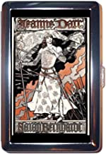 Sarah Bernhardt Joan of Arc Stainless Steel ID or Cigarettes Case (King Size or 100mm)
