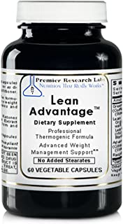 PREMIER RESEARCH LABS Lean Advantage, Dietary Supplement, 60 Vegetarian Capsule - Weight Management, Glucose Response and Sustain the Ratio of Lean Muscle To Total Body Mass