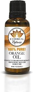 Ethereal Nature 100% Pure Oil, Orange, 1.01 Fluid Ounce