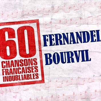60 Chansons Françaises Inoubliables De Fernandel Et Bourvil