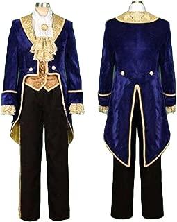 【 サイズ選べる 】monoii 美女と野獣 野獣 コスプレ ハロウィン 王子 メンズ コスチューム 仮装 衣装 大人 c085