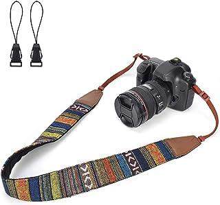 LIFEMATE Camera Shoulder Strap Belt for All DSLR Camera Multi Color Neck Belt for Canon, Nikon, Sony,Pentax, Fujifilm, and...