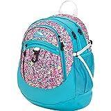 High Sierra Fatboy Backpack, Prairie Floral/Tropic Teal/White, 19.5 x 13 x 7-Inch