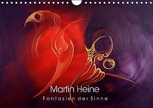 Martin Heine - Fantasien der Sinne (Wandkalender 2021 DIN A4 quer): Martin Heine - Living Artspace - Kunstkalender Acryl u...