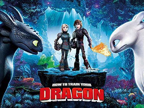 Vinilo Como Entrenar A Tu Dragon  marca COAIND