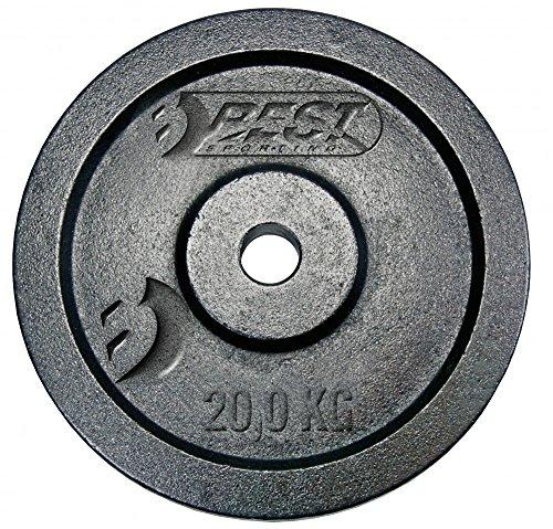 Best Sporting Hantelscheiben, Verschiedene Gewichtsausführungen, Gewicht:1 x 10 kg