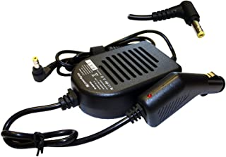Power4Laptops Adaptador CC Cargador de Coche portátil Compatible con Toshiba Satellite P50-C-179