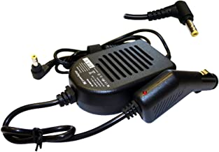 Power4Laptops Car Charger for Packard Bell EasyNote MV46-004, Packard Bell EasyNote MV46-005, Packard Bell EasyNote MV46-0...