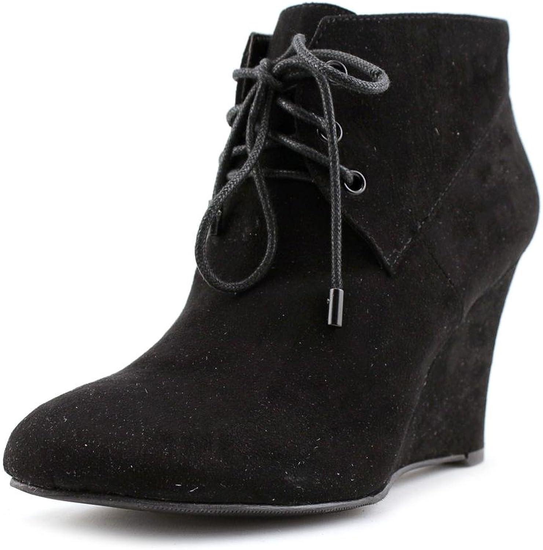 Thalia Sodi Womens NOA Closed Toe Ankle Fashion Boots, Blk1 (Suede), Size 10.0