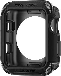 Spigen Tough Armor Kompatibel mit Apple Watch Hülle für 42mm Serie 3 / Serie 2/1 / Original (2015)   Schwarz
