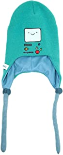 Adventure Time Beanie Hat Beemo Face Laplander Official Blue