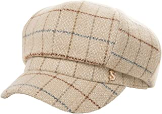 7ca2df4ec22 Womens Newsboy Cap Greek Fisherman Conductor Gatsby Hat Beret Winter Fall  55-60cm