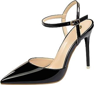Nouveau Haut Talon Bloc Sandales Bow T-Barre Bride Cheville Été Chaussures Tailles 3-8