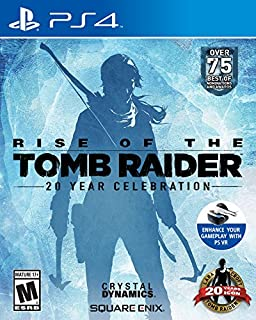Rise of the Tomb Raider: 20 Year Celebration - PlayStation 4 (B013HMN66M) | Amazon price tracker / tracking, Amazon price history charts, Amazon price watches, Amazon price drop alerts