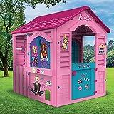 Grandi Giochi, Casetta Happy Holiday Barbie, GG00599, Colore Rosa