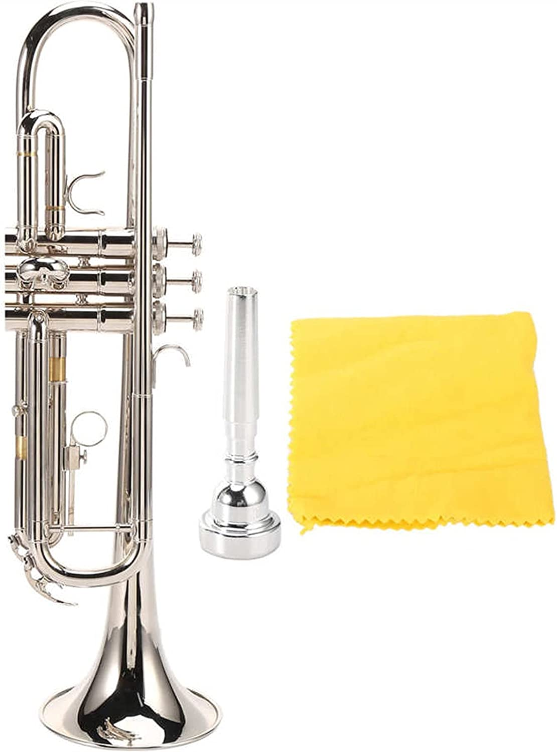 Professional Trumpet Ranking TOP10 with Mouthpiece Silver Exquisite unisex Bb