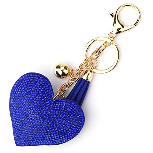 Elesa Miracle Girl Women Love Heart Tassel Keychain c0918f4a1
