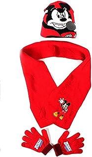 Disney Mickey Muishandschoenen + sjaal + muts Mickey sjaal Mickey handschoenen