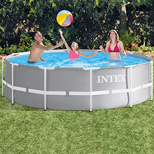 INTEX Kit piscine Prism Frame ronde 3.66 x 0.99 m