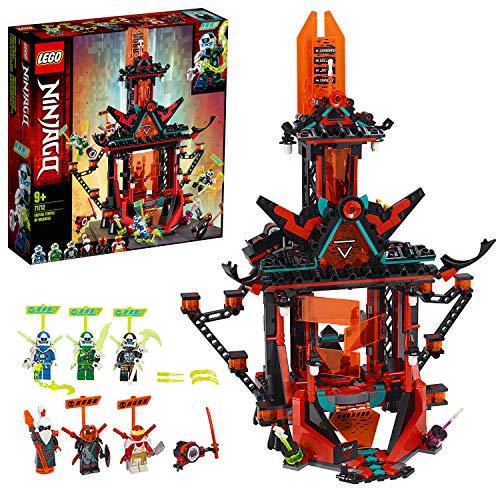 LEGO 71712 NINJAGO Empire Tempel des Unsinns, Bauset mit 6 Minifiguren, Ninja Spielzeug für Kinder