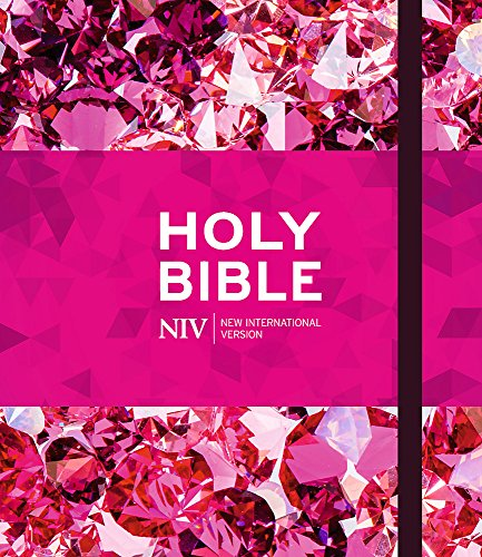 NIV Ruby Journalling Bible: Pink Metallic Hardback (Bible Niv)
