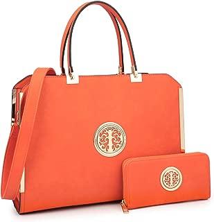 Best orange designer handbags Reviews