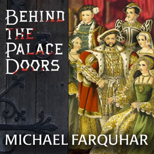 Behind the Palace Doors audiobook cover art
