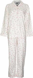 Champion Ladies Womens Blue Sea Wyncette Cotton Long Pyjama Sleepwear Nightwear